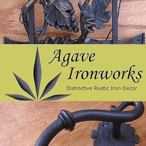 Agave Ironworks RH502-01 Alternate End Stop Location Kit, Flat Black