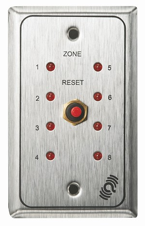 Alarm Controls ZP-8AN Remote Plate for Za-8N
