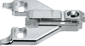 Blum 175L6630.22 Face Frame Adapter Plate, 3mm