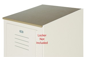 Bradley ST1845-202 Slope Top Kit for 3 Lockers