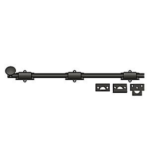 "Deltana 18SB10B Surface Bolt 18"", Heavy Duty, Oil Rubbed Bronze (Each)"