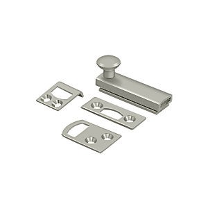 "Deltana 2SBCS15 Surface Bolt 2"" with Concealed Screw, Heavy Duty, Satin Nickel (Each)"