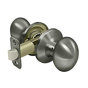 Deltana 3383-15A Egg Knob Passage, Antique Nickel (Each)