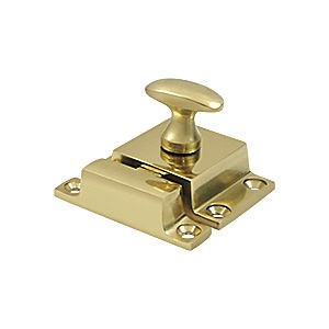 "Deltana CL1532U3 Cabinet Lock 1.2"" x 1.8"", Polished Brass (Each)"