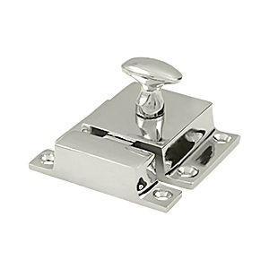 "Deltana CL1580U14 Cabinet Lock 1.6"" x 2.3"", Polished Nickel (Each)"