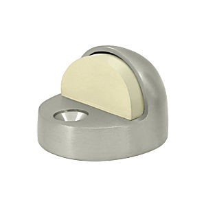 Deltana DSHP916U15 Dome Stop High Profile, Satin Nickel (Each)