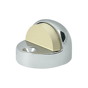 Deltana DSHP916U26 Dome Stop High Profile, Chrome (Each)