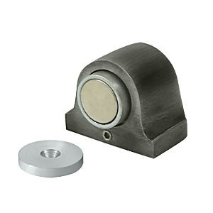 Deltana DSM125U15A Magnetic Dome Stop, Antique Nickel (Each)