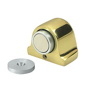 Deltana DSM125U3 Magnetic Dome Stop, Polished Brass (Each)