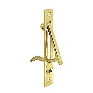 Deltana EP475U3 Edge Pull, Polished Brass (Each)