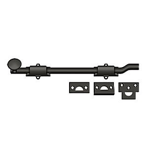 "Deltana FPG1210B Surface Bolt with Off-set 12"", Heavy Duty, Oil Rubbed Bronze (Each)"