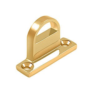 Deltana FPGHDBCR003 Heavy Duty Bracket for HD Bolt, PVD Polished Brass