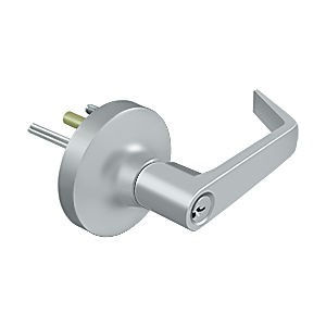 Deltana LTED80LS-26D Lever Trim For Exit Device 80 Entry Function, Brushed Chrome (Each)