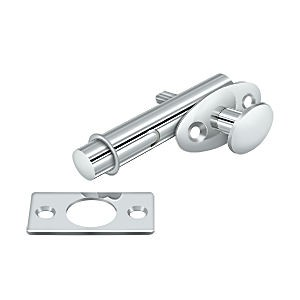 Deltana MB175U26 Mortise Bolt, Chrome (Each)