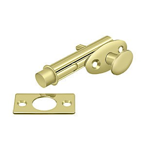 Deltana MB175U3 Mortise Bolt, Polished Brass (Each)