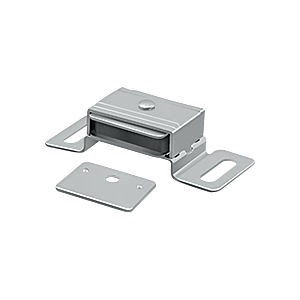 "Deltana MC325 Magnetic Catch 2-1/16"" x 1-1/8"" x 5/8"", Brushed Chrome (Each)"