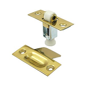Deltana RCA336U3 Roller Catch, Polished Brass (Each)