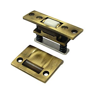 Deltana RCA430U5 HD Roller Catch, Antique Brass (Each)