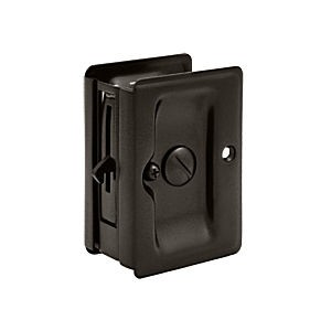 "Deltana SDLA325U10B HD Pocket Lock 3-1/4"" x 2-1/4"" Privacy, Oil Rubbed Bronze (Each)"