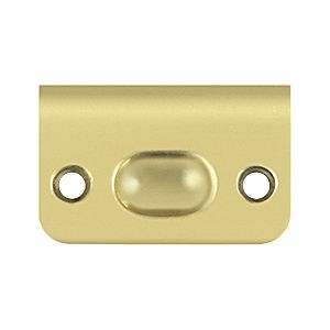 Deltana SPB349U3 Strike for Drive-In, Polished Brass (Each)