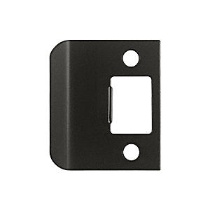 "Deltana SPE200U10B Extended Lip Strike Plate, 2"" Overall, Oil Rubbed Bronze (Each)"