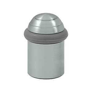"Deltana UFBD5000U26D Round Universal Floor Bumper Dome Cap 2"", Brushed Chrome (Each)"