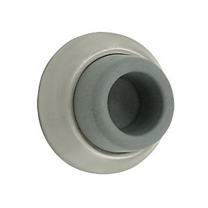 Deltana WB178U15 Flush Bumper 1-7/8 Diameter, Satin Nickel (Each)