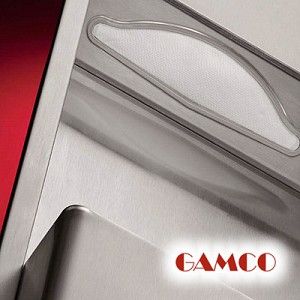 Gamco TW-1FS Towel Dispenser & Waste Receptacle Combination