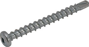 Hafele 792.01.993 Track Screw Pan Head, Zinc Plated