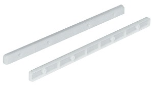 Hafele 430.15.701 Drawer Guide Rail, Plastic White