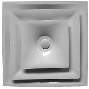 Hart & Cooley FPD12 Light Commercial Fixed-Neck Diffuser
