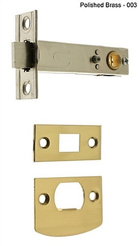 "IDH 21130S-15A Passage Tubular Latch 2-3/4"" Backset, Antique Nickel"
