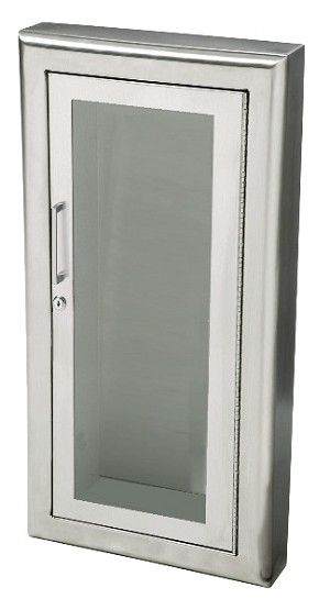 Jl industries 1837 fire extinguisher cabinet 3 rolled g for Jl builders
