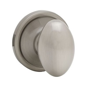 Kwikset 720 Laurel Knob 6AL RCS, Satin Nickel Blackened
