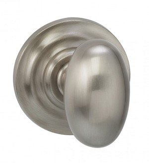 Omnia 434TD/0.SD14 434 Knob with Traditional Rose Single Dummy Polished Nickel