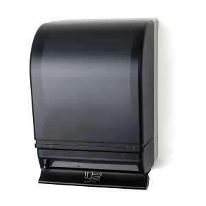 Palmer Fixture TD0215-01 Push Bar Roll Towel Dispenser Dark