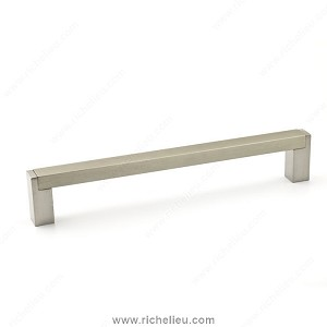 Richelieu BP801160195 Contemporary Metal Pull