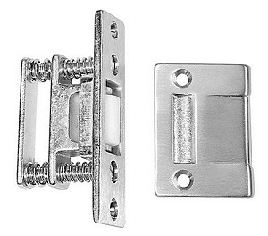 "Rockwood 590T Roller Latch with 2-1/4"" Cast Strike with Torx Screws"