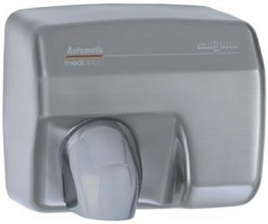 Saniflow E88ACS Automatic Hand Dryer, Satin Metal