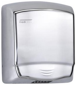 Saniflow M99AC Optima Series Automatic Hand Dryer, Bright SS
