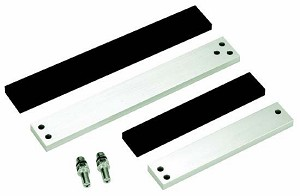 Securitron ASB-62CL Aluminum Frame Spacer Bracket M62, Clear Anodized