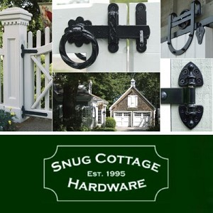 Snug Cottage 3486-002 Hooks on Plates