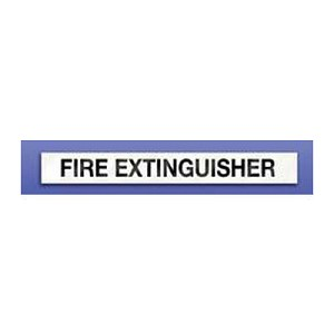 "Strike First 005 Horizontal Decal ""Fire Extinguisher"""