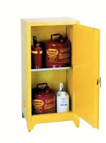 Strike First 1906 Storage Cabinet: Space Saver Manual Close,