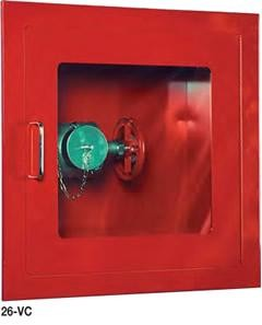 Strike First 26-VC Fully-Recessed Valve Cabinet, Safeguard Standard