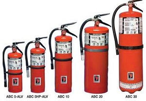 Strike First ABC 20-W Dry Chemical Fire Extinguisher 20 lbs, Wall Bracket