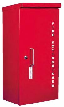 Strike First HDOC Heavy Duty Outdoor Fire Extinguisher Cabinet 20 lbs