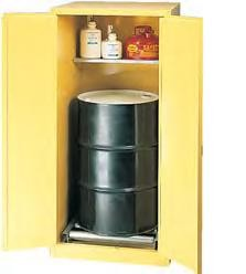 Strike First 1926 Storage Cabinet: One Drum Vertical Manual Close