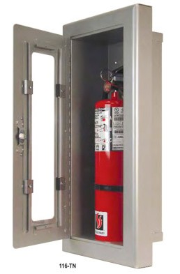 Strike First 107-TN Surface Mounted Extinguisher Cabinet