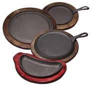 "Tomlinson 1016269 RP-17 Round Griddle w/ Handle 7"" Diameter"